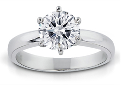 1.50 Carat Round-Cut Diamond Solitaire Ring