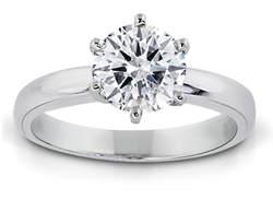 1.25 Carat Round-Cut Diamond Solitaire Ring