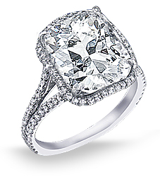 2 1/2 Carat Diamond Engagement Ring
